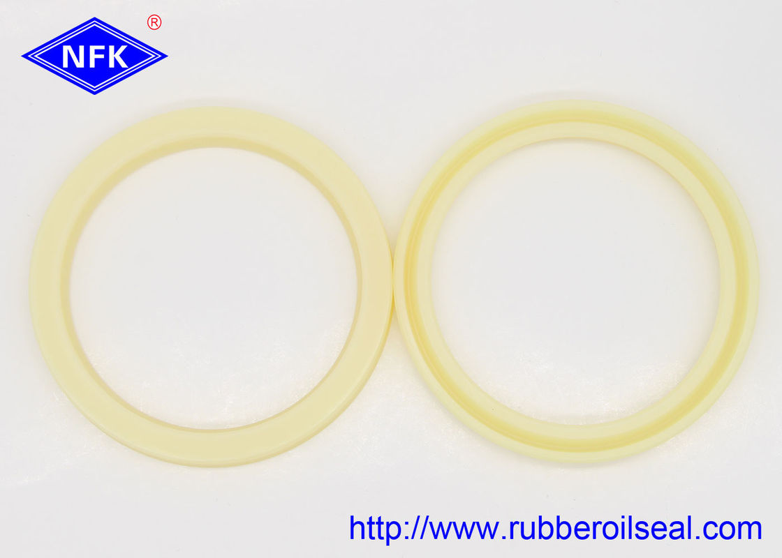 Durable Yellow Polyurethane Hydraulic Rod Seal For Automobile , Motorcycles